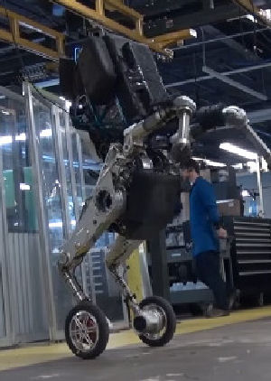 Exciting New Robot from BostonDynamics